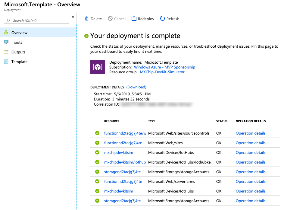 Azure IoT DevKit Simulator (MXChip AZ3166) 3