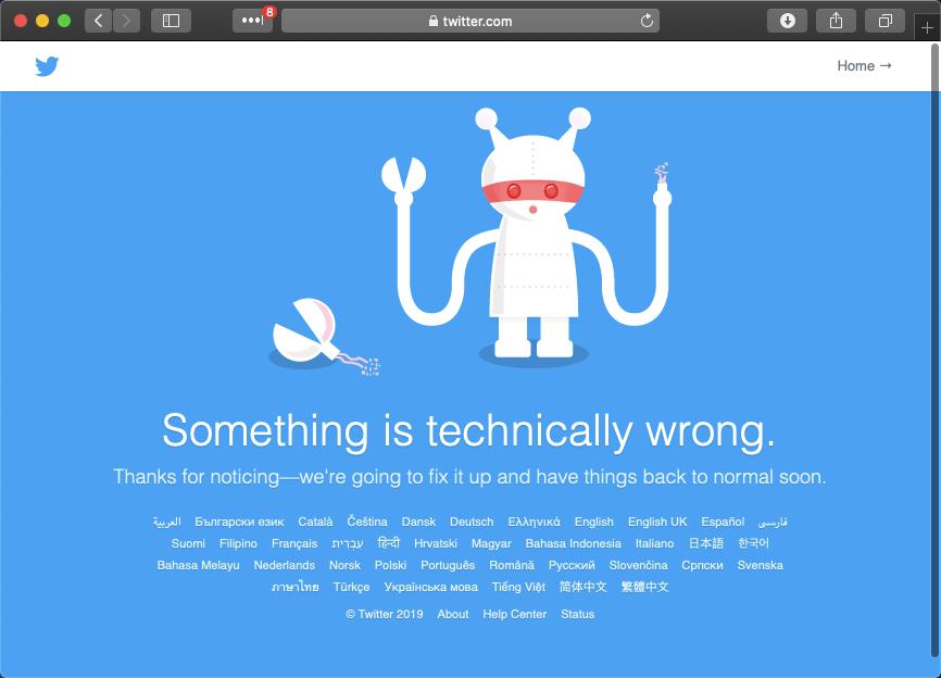 Twitter Fail Robot screenshot