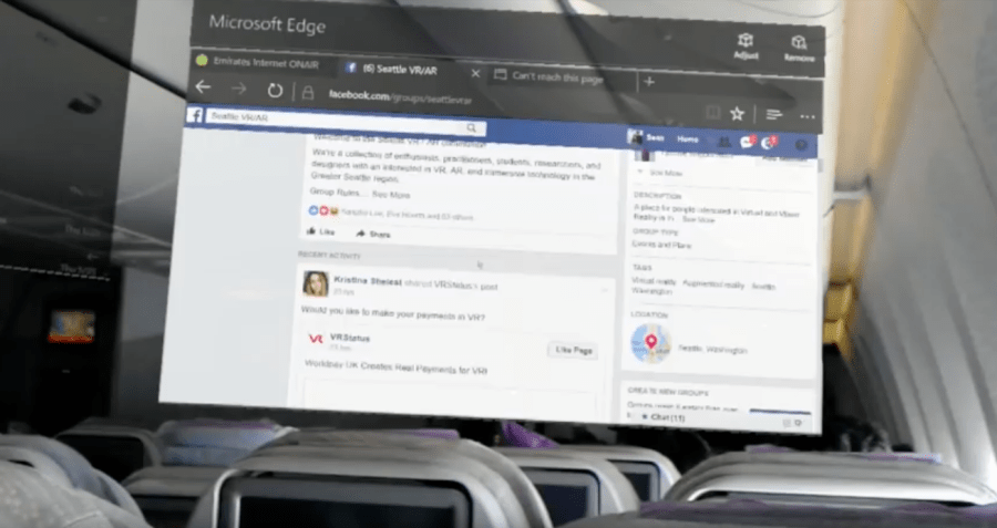 Beat the Laptop Airplane Ban with Microsoft HoloLens!