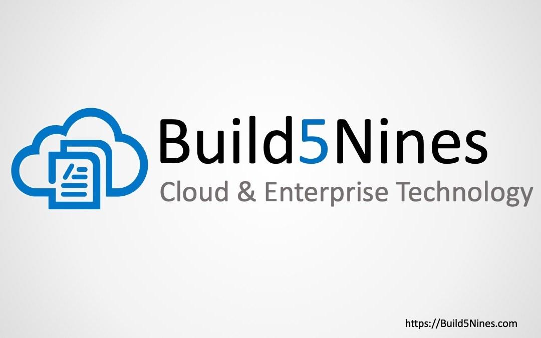 BuildAzure.com is now Build5Nines.com