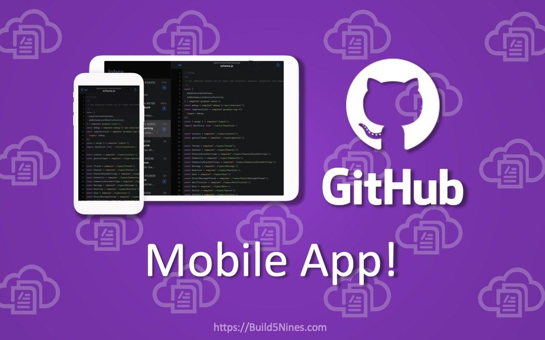 GitHub Mobile App Released