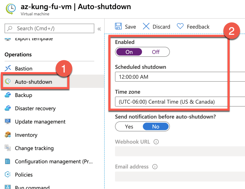 Properly Shutdown Azure VM to Save Money 4