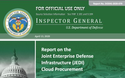 Microsoft Cleared as Winner of DoD JEDI Contract; sorry Amazon