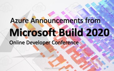 Azure Announcements from Microsoft Build 2020