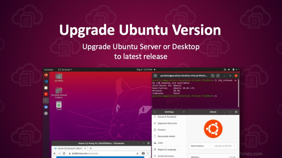 Upgrading Ubuntu to 20.04 LTS Focal Fossa
