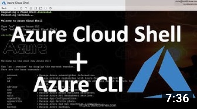 Getting Started with Azure CLI and Cloud Shell