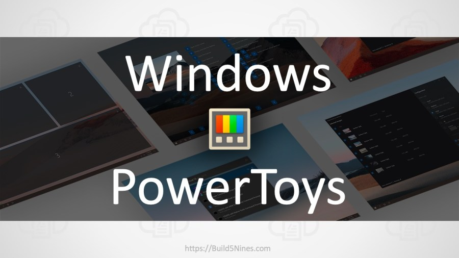Install the New Windows PowerToys