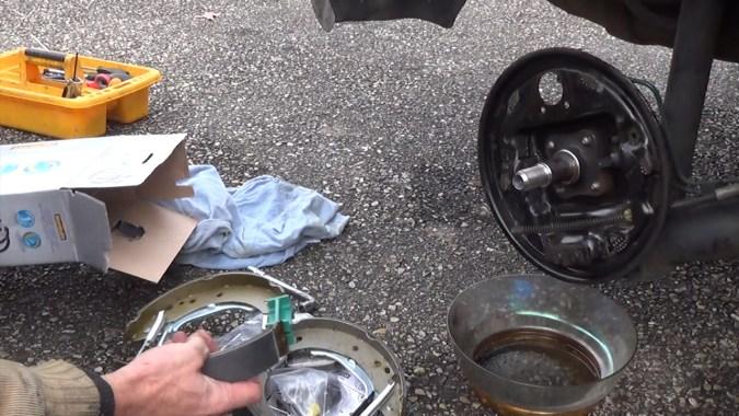 Montage du kit de frein prémonté easy kit