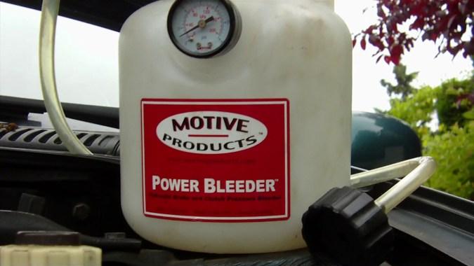 Appareil de purge sous pression Power Bleeder