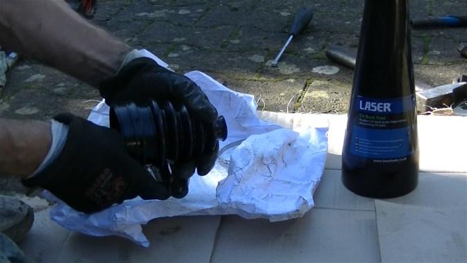 Soufflet universel à utiliser avec un cône de montage