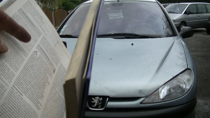 Ordre de purge sur la Peugeot 206