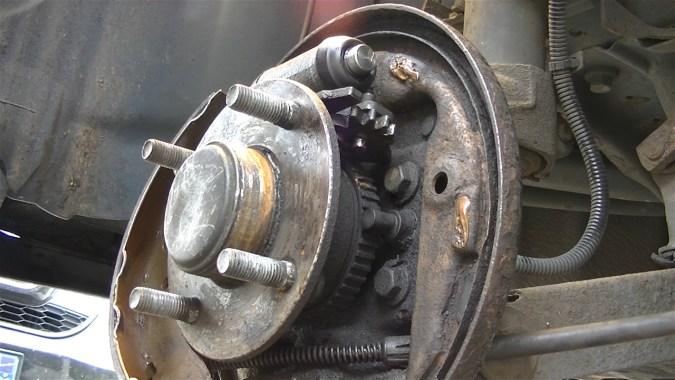 Cylindre de roue reposé
