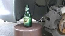 Purger les freins à la bouteille