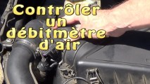 Tester un debitmetre d'air