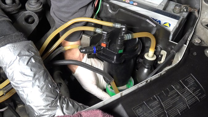 i votre pompe Haute Pression est très usée, elle peut générer de la limaille
