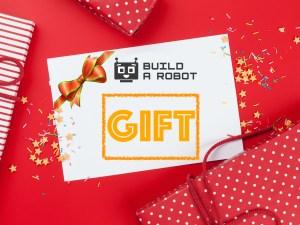 Build a Robot Gift Card