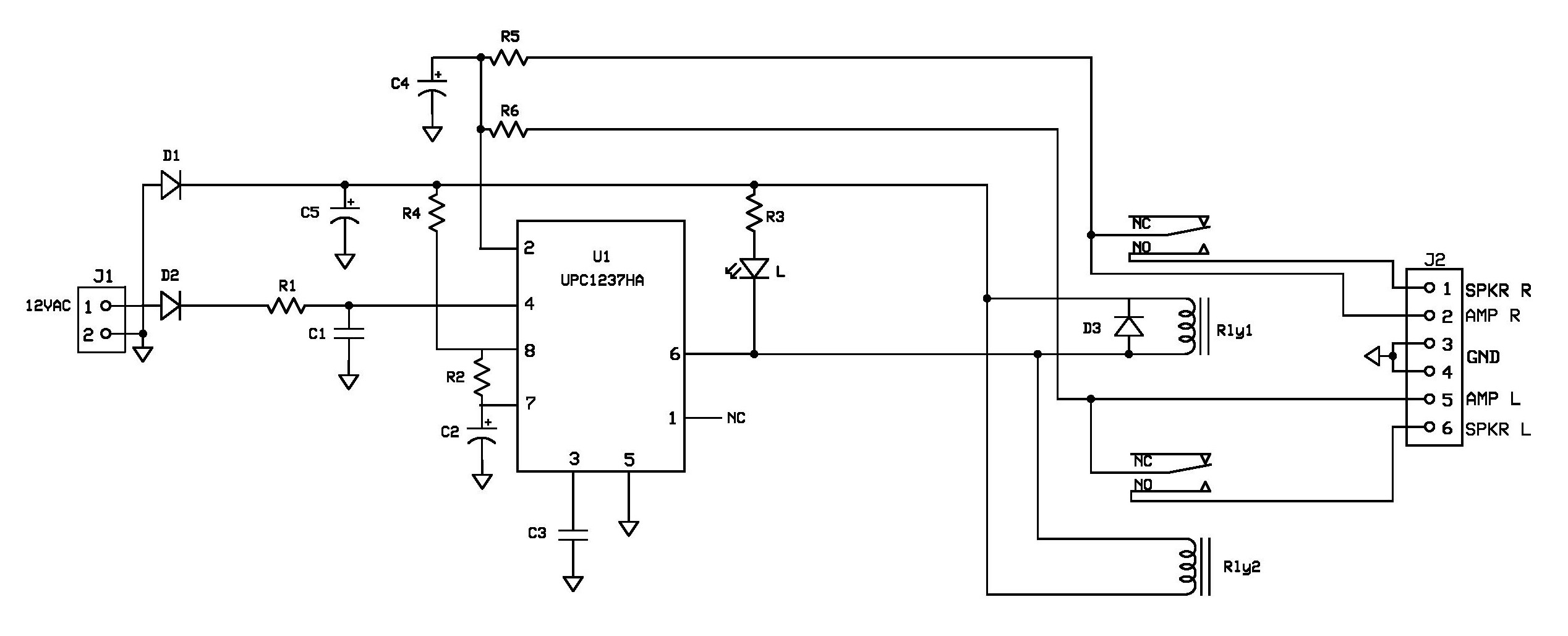 Intex 21 Speaker Circuit Diagram