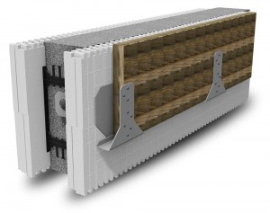 BuildBlock Ledger Block with Sistered Beam