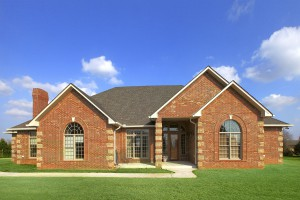 ICF home in NW Oklahoma City built in 2009.