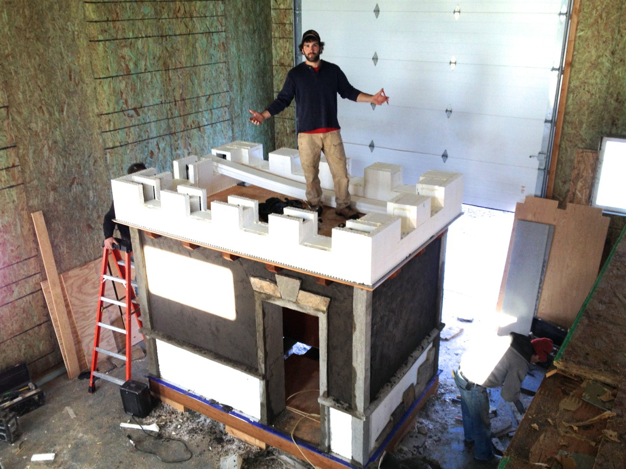Mazzella Construction Builds ICF Playhouse for Charity