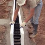 Placing Block in Footings