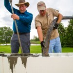 Pouring the ICF Walls