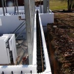 ICF walls with horizontal rebar