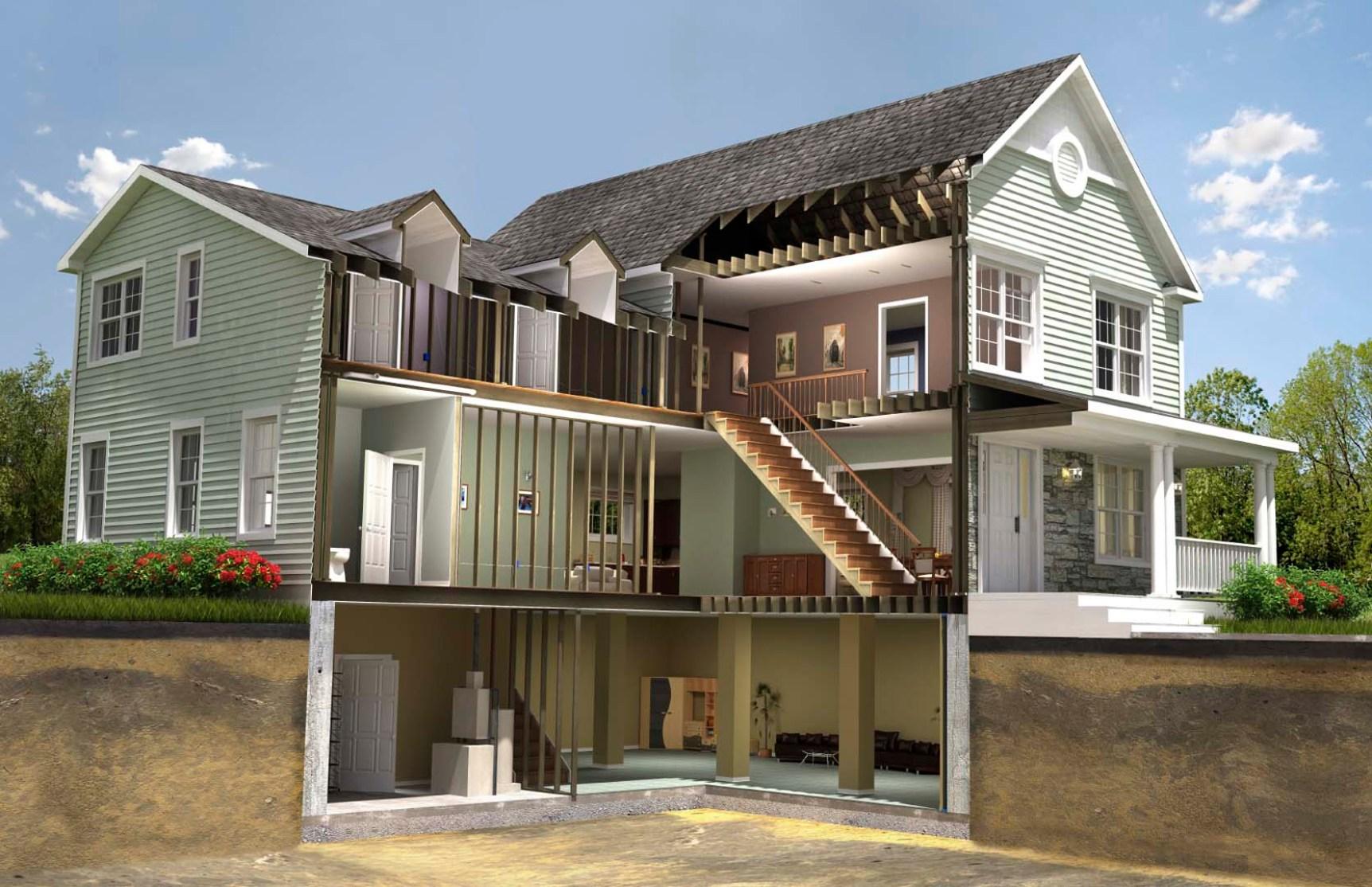 Unique home building design house floor ideas for Icf home design software