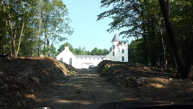 Scottish Style BuildBlock ICF Castle in Connecticut
