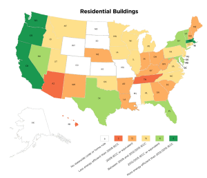 2018 Residential Code Adoption by State