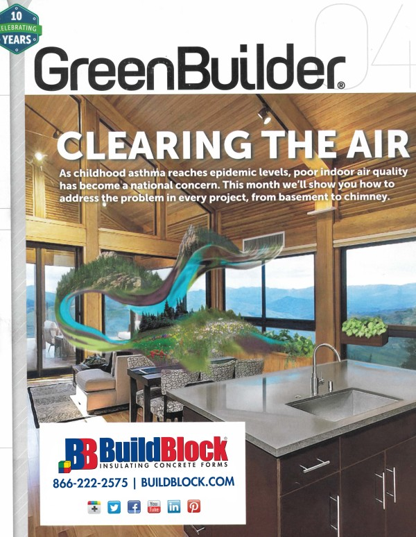 Press Release: BuildBlock Building Systems Ranks Top ICF Structural System in GreenBuilder Magazine
