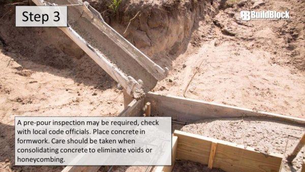 basic icf construction step 3