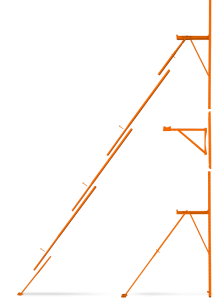 BuildBrace 24 foot extension