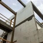 Atlantic Beach House during construction