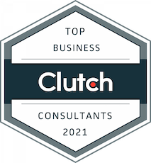 Top Best Small Business Consultants and Business Coach Award by Clutch - Build Change Impact - Stacey Ansley  2021