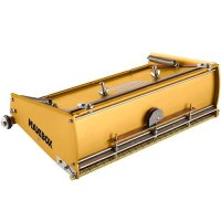 12 inch extra high capacity finishing box designed to hold large amounts of joint compound