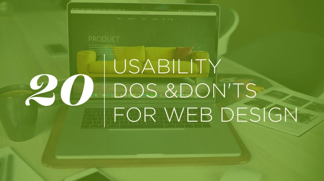 20 Usability Dos and Don'ts of Web Design