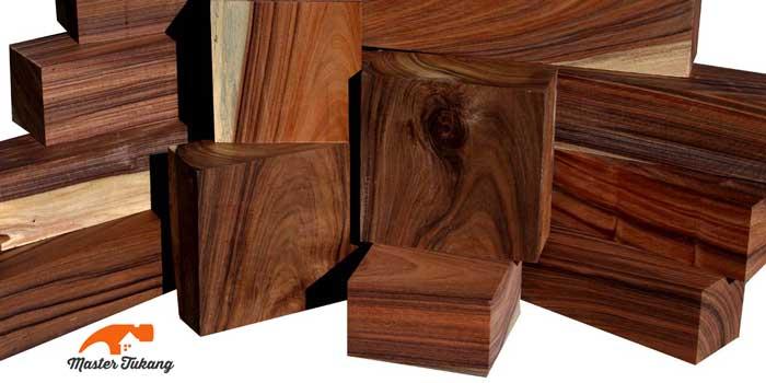 kayu sonokeling atau rose wood