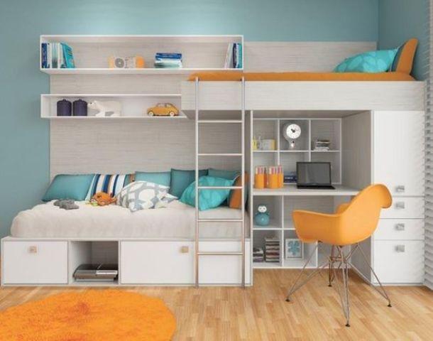 Desain kamar anak kembar modern