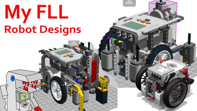 From Garbage To Great My Fll Robot Designs Over The Years