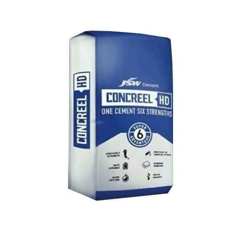 JSW Concreel Cement