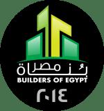logo بناة مصر نسخة 2014