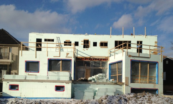 How much will a home built with insulated concrete forms cost for Nudura icf cost