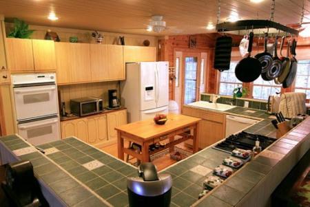 Ceramic And Granite Tile Kitchen Countertops