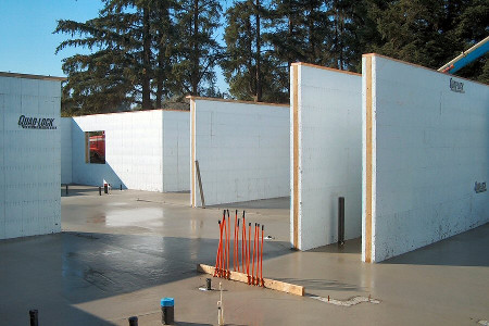 Building with insulated concrete forms for Icf concrete forms for sale