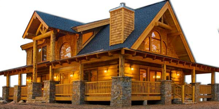 20 essentials of great log home designs for Log home plans ontario