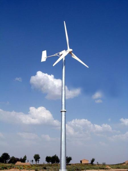 Wind-Turbine in action