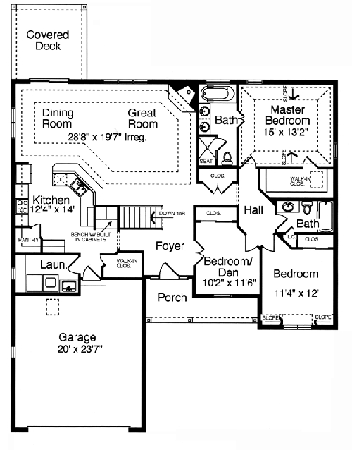 The laurels The laurels floor plan