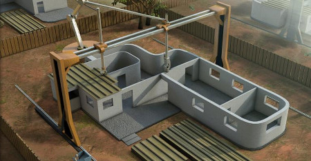 Contour crafting 3d printing will transform home building for 3d printer house for sale