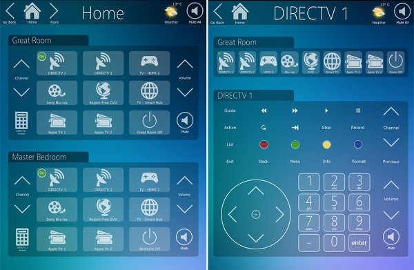 iPad Home Control System